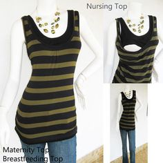 COMFY Maternity Clothes / Nursing Top / by ModernMummyMaternity, $26.99
