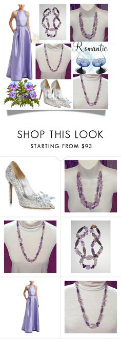 """""""www.etsy.com/shop/DriadaCollection 11"""" by selmamehic ❤ liked on Polyvore featuring Jimmy Choo and ML Monique Lhuillier"""
