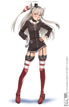 Kantai Collection - Amatsukaze by MLeth on DeviantArt