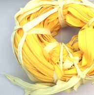 48 Wholesale Long Plastic Teeth Zippers Vintage Zippers Lot YKK Talon Coats