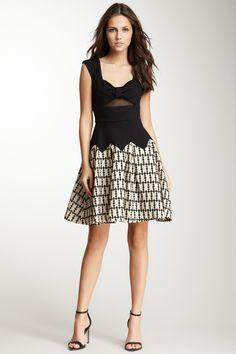 Eva Franco Waverly Twofer Dress