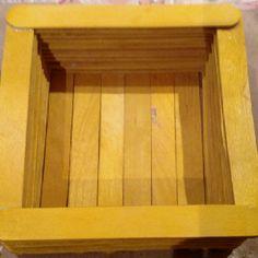 Yellow Box....Handmade