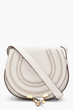 Chloe Mint Green Leather Marcie Medium Handbag for women | SSENSE ...