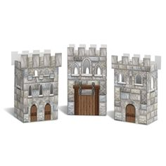 Find Medieval Castle Favor Boxes (Set Of and other Party Favors party supplies. The most popular party Supplies and Decorations, all available at wholesale prices! Medieval Party, Medieval Castle, Medieval Knight, Bolo Clash Royale, Castle Party, Black Friday Toy Deals, Knight Party, Cheap Baby Shower, Dragon Party