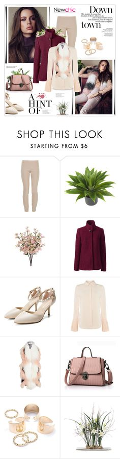 """""""NewChic  20. 17.01.2017"""" by goharkhanoyan ❤ liked on Polyvore featuring The Row, PLANT, Nearly Natural, Lands' End, Lost Ink, Urbancode and newchic"""