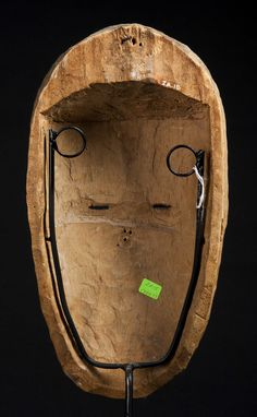 A fine Vuvi Face mask Art Premier, Black Pigment, Arts, Red And White, Auction, Carving, Face, Wood Carvings, Sculptures
