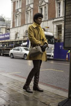 On the streets of London. [Photo by Francisco Gomez de Villaboa]