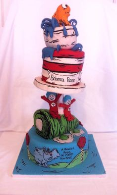 Doctor Seuss cake