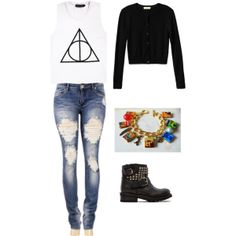 """Fashion Harry Potter Outfit"" by roses-s on Polyvore"