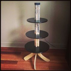 Handcrafted Hockey Stick Dessert/Cupcake Stand by pisforaparty, $250.00