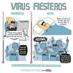 Virus fiesteros