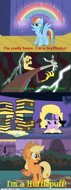 I'm a big My Little Pony Friendship is Magic fan and a big Harry Potter fan- this was just too good!