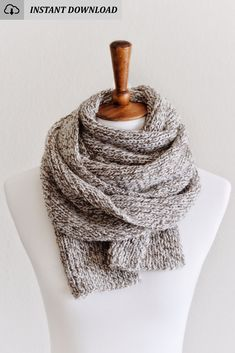 #Knit a fashion #scarf with this #easy #knitting #pattern by #darlingjadore for The Nora Scarf! #knittingpattern #knittingpatterns #knitpattern #easyknittingpattern #easyknitpattern #knitscarf #knittedscarf #knitscarfpattern #scarfknitpattern #easyknitscarf #knitfashion #knitpatterns #scarfknitpattern #knitscarfpattern #norascarf