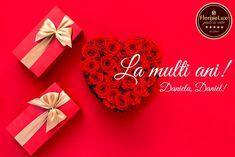 La Mulți Ani dragi sărbătoriți! Daniel, Daniela, să aveți o zi minunată! Dacă nu ai reușit să le cumperi cadou până acum, nu este prea târziu. Verifică ofertele FlorideLux! 📩 Comandă online oricand pe www.floridelux.ro ☎️ Comanda rapid telefonic 0372740106 // pe Whatsapp 0722560914 🚙 Livrare flori oriunde in Romania de luni pana duminica; livrare gratuita la comenzi de peste 199RON #floridelux #flowers #nature #flower #love #photography #flowerstagram #winter #winterishere #hellodecember…