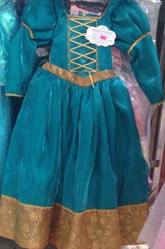 Hey, I found this really awesome Etsy listing at https://www.etsy.com/listing/250119139/princess-brave-princess-merida-costume