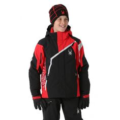 c93f75a5b9f8 Looking for one of the best ski jackets for your son  The Spyder Boys  Challenger