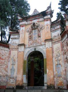 Ornate Entrance of Baidicheng, (White Emperor City) ~ Chongqing, China