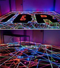 Robotic Light Art: Clean & Create with a Roomba Vacuum Sparkling Lights, Light Painting, Light Art, Twinkle Twinkle, Robots, Lanterns, Graffiti, Digital Art, Magic