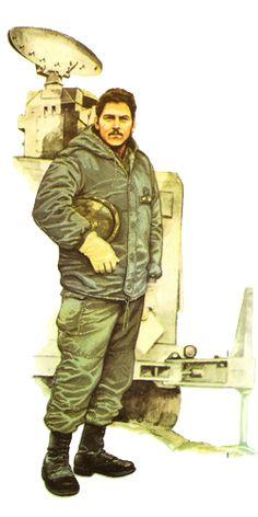 Uniformes de la guerra de Malvinas