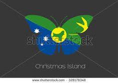 Christmas Island, Flag Vector, Logos, Logo