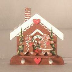 Gingerbread House Hook by Karen Markland
