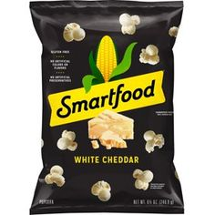If you love our popcorn and you love cheese, our white cheddar cheese popcorn is a delicious choice. Made with real white cheddar cheese, it's bursting with amazing cheese flavor in every air-popped bite. White Cheddar Popcorn, Cheese Popcorn, Pop Popcorn, White Cheddar Cheese, Smartfood Popcorn, Vegetable Chips, Cheese Cultures, Chips Brands, Milk Ingredients