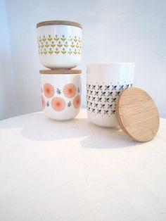 Pot porcelaine (3 modèles) Mr And Mrs Clynk