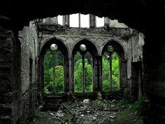 Hafodunos Hall in Llangernyw, North Wales