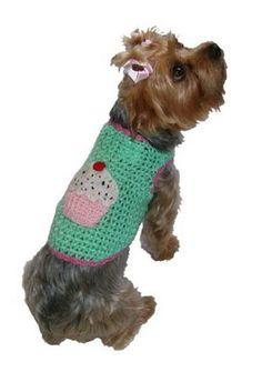 Pupcake Summer Dog Sweater Vests