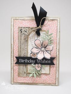 Four You, Garden in Bloom, Hardwood, Stampin Up, Timeless Textures