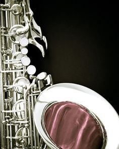 Silver Saxophone...wished mine looked this good