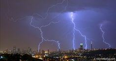 The city of Johannesburg in South Africa during a midsummer electrical thunderstorm. Johannesburg is Electrifying - Lightning over Johannesburg City Skyline Lightning Final Fantasy Xiii, Lightning Drawing, Johannesburg Skyline, Lightning Photography, Girl Power Tattoo, Skyline Image, Thunder And Lightning, Lightning Storms, Photographer Pictures