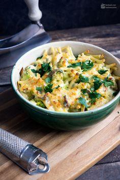 Nudelauflauf mit Lauch & Brokkoli | Madame Cuisine Rezept