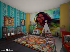 Roomstyler.com - pocahontas nursery