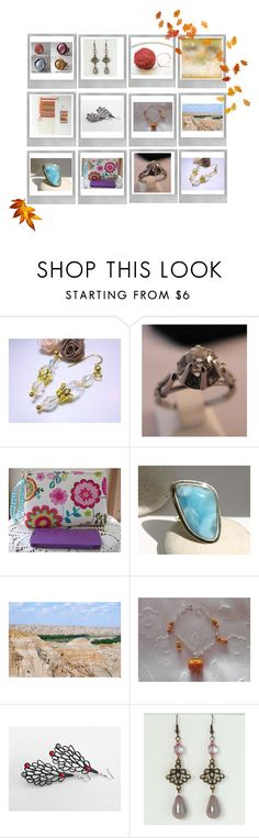 """Etsy shop"" by acasaconmanu ❤ liked on Polyvore featuring Polaroid, Caso and Anello"