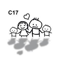Hochzeit Comic 17 · FamilienGrafikenCharakterEinladungskarten