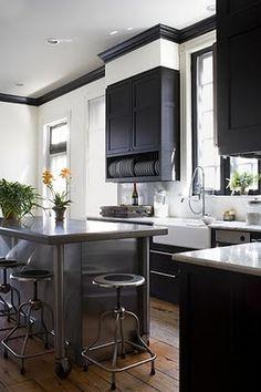 Kitchen ~ Black & White