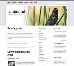 60 High Quality Free Web Templates and Layouts