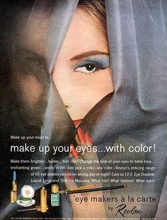 1961 fabricantes de Revlon ojo.