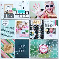Paper Fab: Gossamer Blue April Kits - Week 10