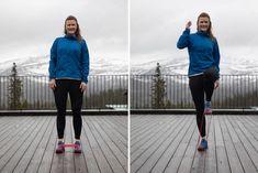 Dagens övning: Löpstyrka för höftböjaren – knälyft mot miniband!