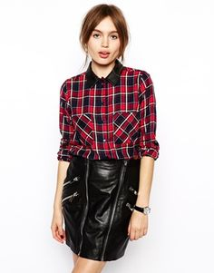 ASOS Red Check Shirt