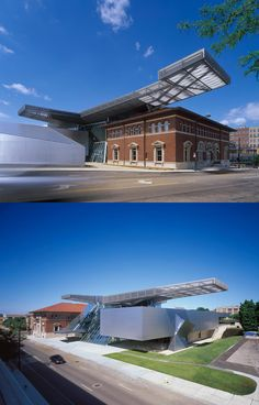 Akron Art Museum Expansion by Coop Himmel(b)lau - Akron, Ohio, USA