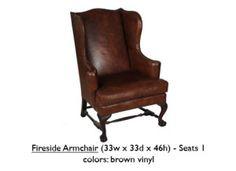 FiresideArmchair-Brown