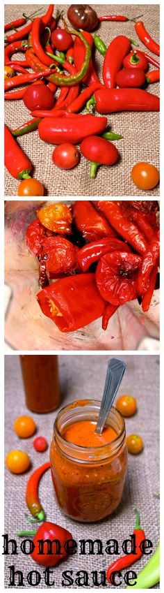 Just like momma used to make... a little smoky, a touch of sweet, a lot of spicy,a flavour bomb explosion to douse all your favourite foods. My momma didn't make hot sauce, but if she did I imagine she'd opt for a simple and delicious recipe such as this. Tomatoes, garlic and a ...