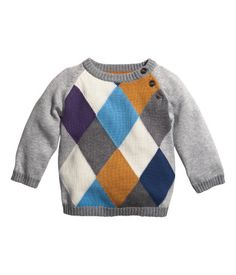 H&M sweater $12.95 | baby boy's Fall basics