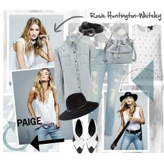 Rosie Huntington-Whiteley for Paige Denim