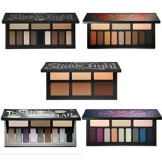 Eye Shadow Colorful Palettes Makeup Long-lasting and Easy to Wear Natural Water Resistant Luminous Glitter Shimmer Matte Metallic Radiant Natural Satin