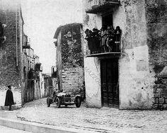 Targa Florio 1931 , Alfa Romeo 8C 2300  #14 , Driver Tazio Nuvolari , First place overall winner.