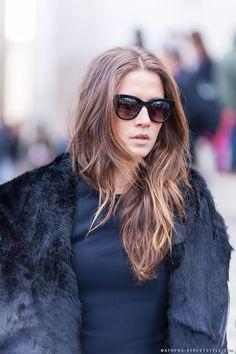 hair 2015 street style - Google zoeken